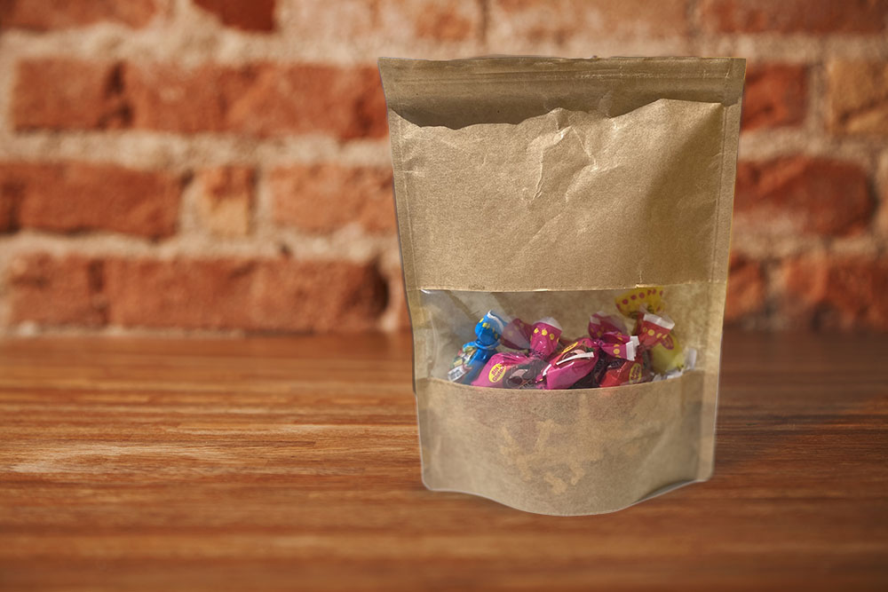 Caramelos en Doypack papel
